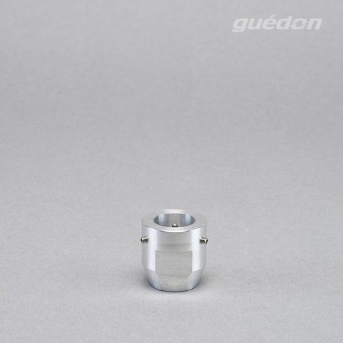 Adapter mit Gewindeanschluss für Vakuumerzeuger / Minigebläse 100 aus Aluminium mit innenliegender O-Ringdichtung