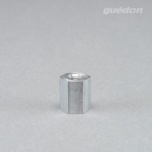 Adapter aus Aluminium Innengewinde 1/4 Zoll, Innengewinde M10