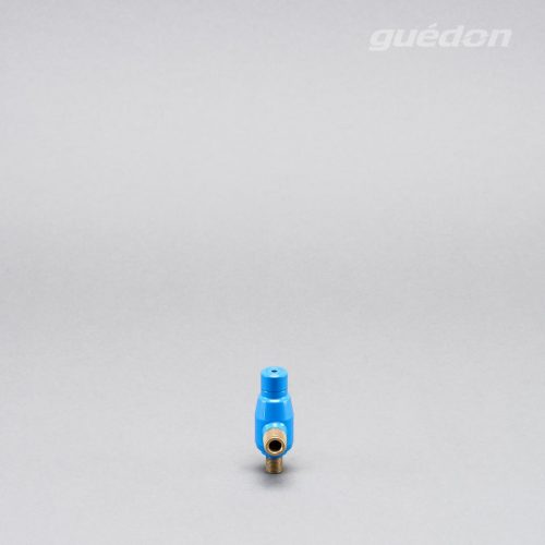 Ejektor blau: extrem robuster Vakuumerzeuger, hoher Vakuumpegel von 810 mbar bei gleichzeitig hoher Ansaugmenge von 26 - 965 Nl/min erreichbar
