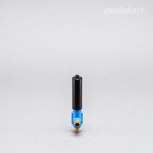 Ejektor blau: extrem robuster Vakuumerzeuger, hoher Vakuumpegel von 810 mbar bei gleichzeitig hoher Ansaugmenge von 26 - 965 Nl/min erreichbar, Schalldämpfer hocheffizient (-37dB), verstopfungsfrei