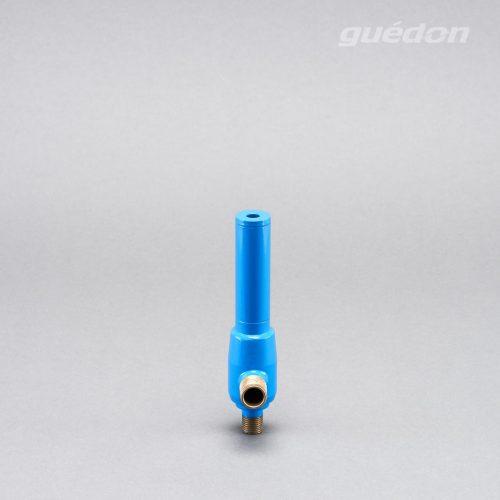 Ejektor blau: extrem robuster Vakuumerzeuger, hoher Vakuumpegel von 810 mbar bei gleichzeitig hoher Ansaugmenge von 26 - 965 Nl/min erreichbar, Standardschalldämpfer