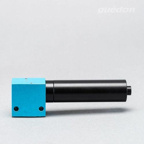 Kleinejektor: Vakuumerzeuger robust und leistungsstark, Ansaugmenge 14,5 - 115 Nl/min, max. Vakuum 810 mbar, Schalldämpfer