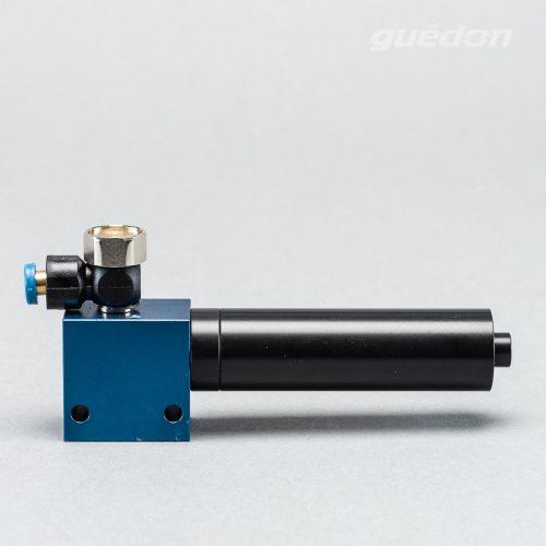 Kleinejektor: Vakuumerzeuger robust und leistungsstark, Ansaugmenge 14,5 - 115 Nl/min, max. Vakuum 810 mbar, Anschluss für Abblasen, Schalldämpfer