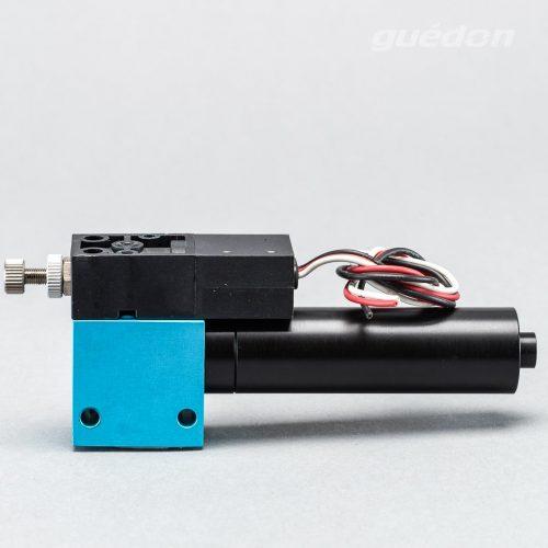 Kleinejektor: Vakuumerzeuger robust und leistungsstark, Ansaugmenge 14,5 - 115 Nl/min, max. Vakuum 810 mbar, Vakuumschalter, Schalldämpfer