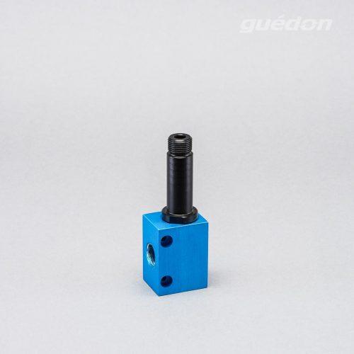 Basisejektor: Vakuumerzeuger, der direkt auf den Greifer montiert werden kann, Vakuumpegel 300 - 860 mbar