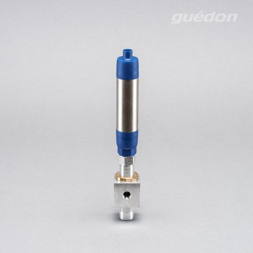 Ejektor 2EJL: Vakuumerzeuger geradlinig, verstopfungsfrei daher geeignet zur Produktförderung und Entgasung, Ansaugmenge 55 - 1730 Nl/min, Schalldämpfer hochwirksam und verstopfungsfrei