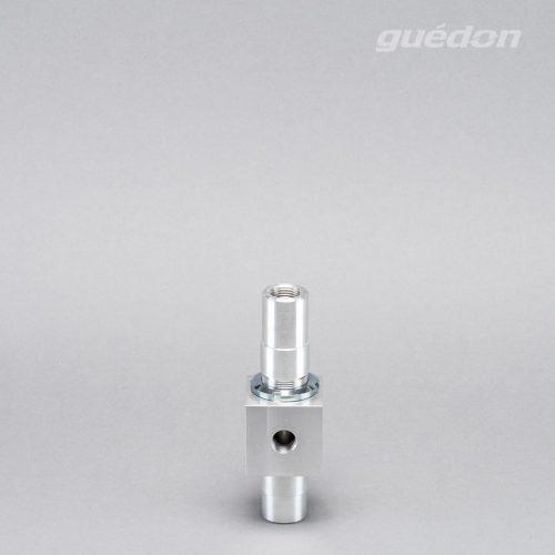 Ejektor 2EJL: Vakuumerzeuger geradlinig, verstopfungsfrei daher geeignet zur Produktförderung und Entgasung, Ansaugmenge 55 - 1730 Nl/min