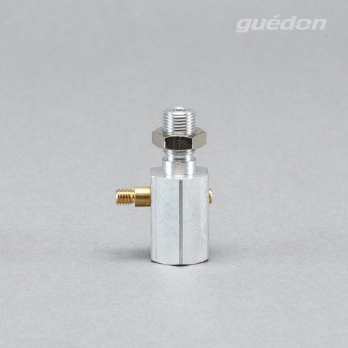 Ejektoverschraubung lang: Vakuumerzeuger zur direkten Montage auf den Vakuumsauger