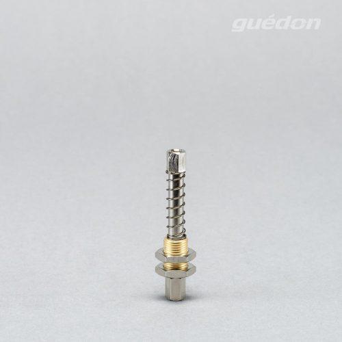 Federstössel, Höhenausgleich oder sanftes Aufsetzen auf empfindliche Produkte, Hub 5-20 mm