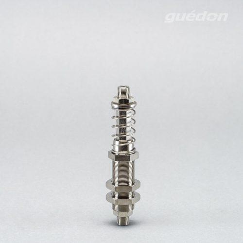 "Federstössel ""Heavy Duty"", Hub 25 mm, Größe 2, verdrehgesichert, extrem robust"
