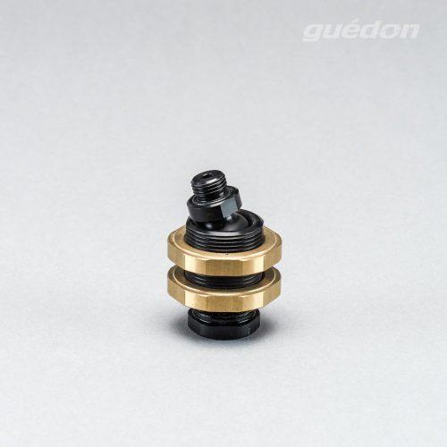 Kugelgelenk mit stufenlos blockierbarer Lageeinstellung in alle Richtungen +/- 25° für dem Greiferbau für Werkstücke mit komplizierter Bauform