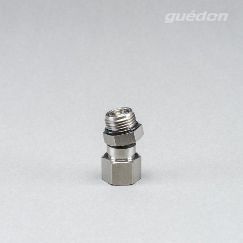 Kugelgelenk frei schwenkbar in alle Richtungen +/- 24°; ideal in Kombination mit Flachsaugern