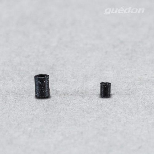 Minisauger, Durchmesser 1 bzw. 1,5 mm aus NBR, Anschlussnippel einsteckbar