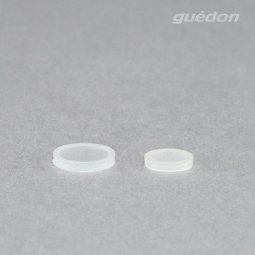 Siebfilter: Filterscheiben zum Einstecken in das Anschlussgewinde von Vakuumsaugern, verhindert Partikel im Vakuumkreis