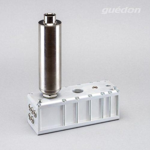Mehrkammerejektor: mehrstufiger Vakuumerzeuger, ATEX-Ejektor für Vakuumhebegeräte