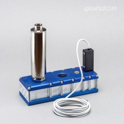 Mehrkammerejektor: mehrstufiger Vakuumerzeuger mit Schalldämpfer hochwirksam und Vakuumschalter