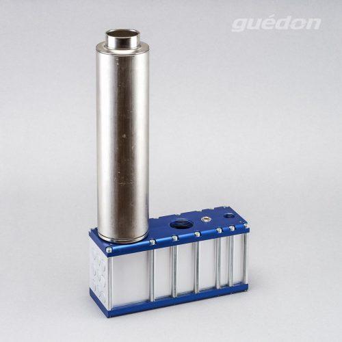 Mehrkammerejektor: mehrstufiger Vakuumerzeuger mit Schalldämpfer hochwirksam