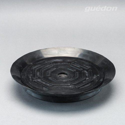 Vakuumsauger mit speziellem Anschlag für dünne Bleche und Scheiben aus NBR mit innenliegendem Innengewinde 1/2 Zoll, vulkanisiert