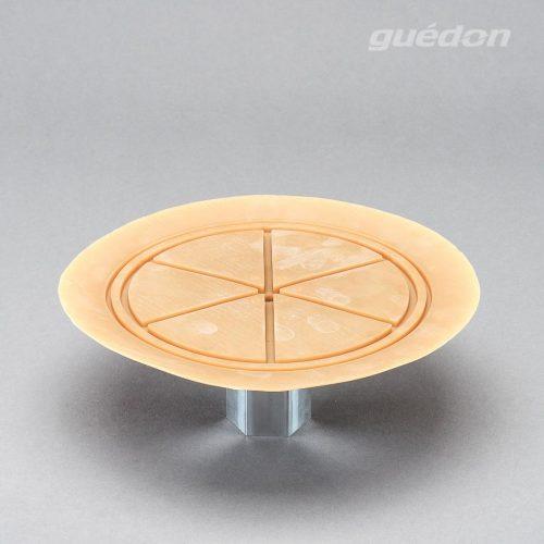 Vakuumsauger mit speziellem Anschlag für dünne Bleche und Scheiben, Durchmesser 200 mm aus Naturkautschuk mit aufvulkanisiertem Innengewinde 1/2 Zoll