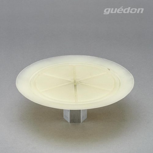 Vakuumsauger für dünne Bleche und Scheiben aus Silikon mit aufvulkanisertem Innengewinde 1/2 Zoll
