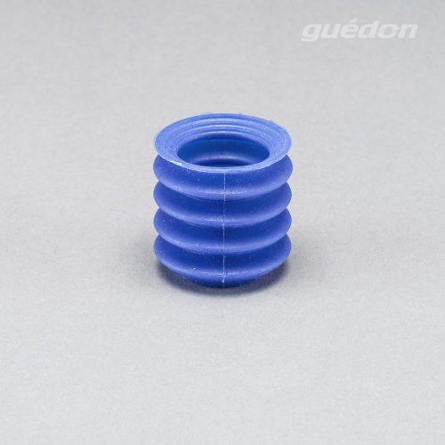 Vakuumsauger DETEKTIERBAR fuer Gebaeck oder Teifkuehlpizza, Silikon blau, FDA-konform, lebensmittelecht