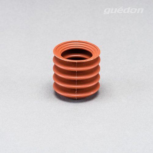 Gebäcksauger oder für Werkstücke mit besonders stark gewölbter Oberfläche (z.B. Kerzen), besonders weiches Silikon, FDA-konform, lebensmittelecht, Anschlussnippel einsteckbar