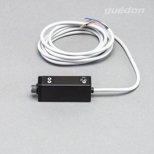 Vakuumschalter elektronisch mit Digitalanzeige, Kabel, zur Überwachung von Werkstücken oder zur Steuerung von Energiesparzyklen
