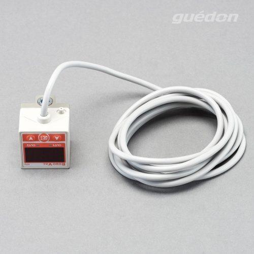 Elektronischer Vakuumschalter mit Digitalanzeige zur Überwachung von Werkstücken oder zur Steuerung von Energiesparzyklen