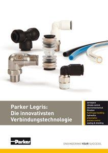 Katalog Legris Verbindungstechnik: Steckverbinder bzw. Blitzanschlussysteme, Einpresspatronen, Verschraubungen, Schläuche, Ventile etc. vom Premiumpartner Guédon