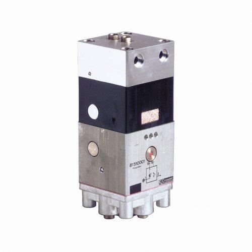 Verstärker mit integriertem Druckminderer, 81 510 001, sowie das gesamte Crouzet Pneumatikprogramm liefert guédon - Spezialist für Pneumatik & Automation seit über 40 Jahren