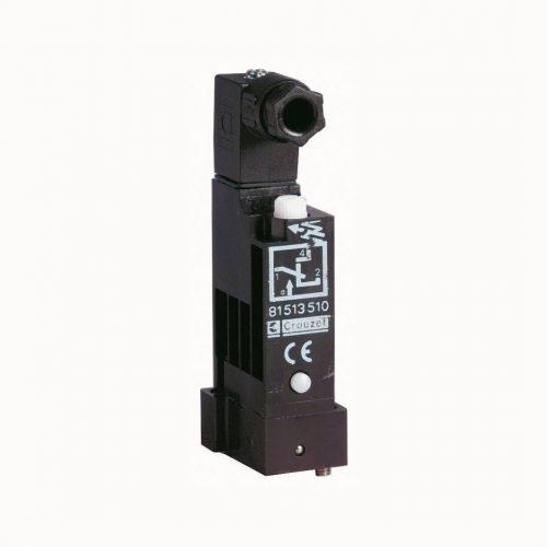Crouzet 81513516 Druckschalter, 81513510 Druckschalter mit Handbetätigung, Vakuumschalter zur Montage auf Grundplatten 81513527