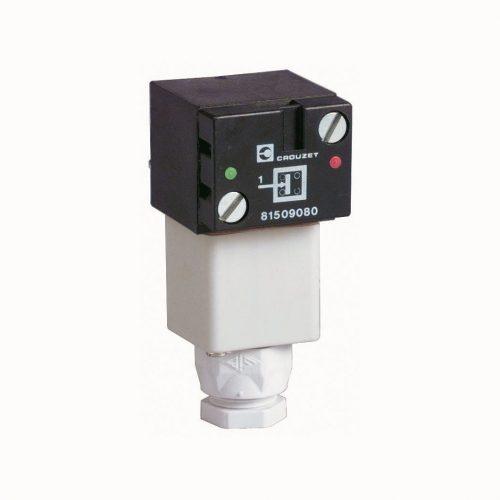 Crouzet 81509080 Druckschalter mit einstellbarem Schaltpunkt, Crouzet Vakuumschalter handbetätigt, Schaltpunkt einstellbar