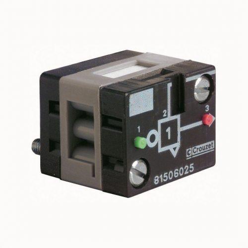 Crouzet NEIN, Identität, auf Grundplatte vom Premiumpartner guédon pneumatik & automation 81506025 Crouzet NEIN-Identität