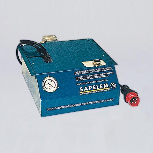 Gesicherte Vakuumzentrale, elektrisch mit Vakuumspeicher und Sicherheitsrückschlagventil vom Vakuumspezialisten guédon