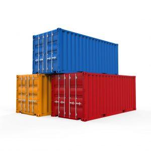 Nerthuz. Stacked Shipping Container. Digitalbild. www.shutterstock.de; Stockfotonummer 156760073. Web 18. Juli 2017.