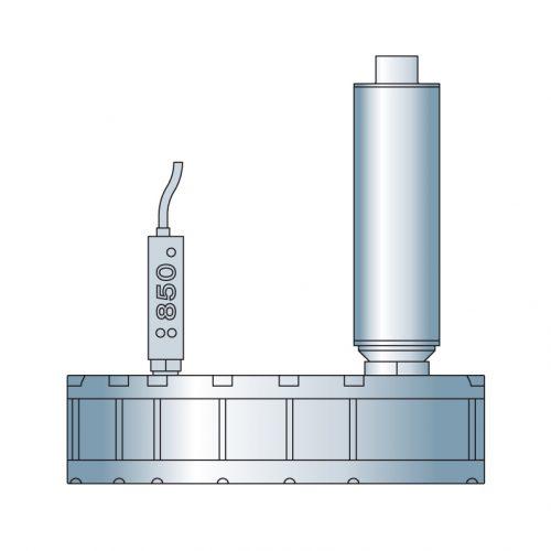 Ejektoren für Werkstücke mit variierender Porösität