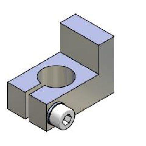 Anschlag für Winkelspanngreifer mit Klemmgröße 14, Anschlag für Greiffinger ANS.14, Greiflösungen von guédon – Vakuumspezialist