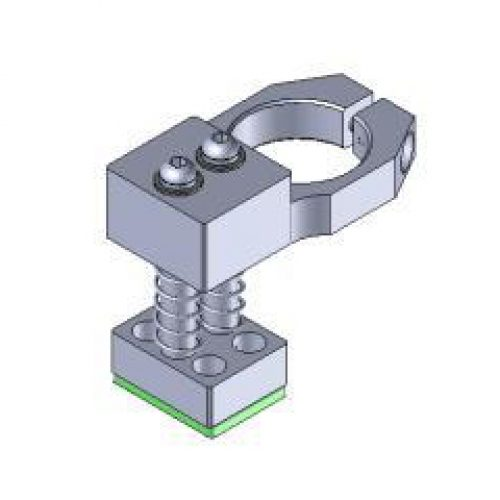 Anschlag für Winkelspanngreifer, gefedert, mit Gummierung, Klemmgröße 20, Anschlag für Greiffinger GRF20.VSX, Greiflösungen von guédon – Vakuumspezialist