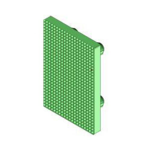 Ersatz-Gummieinsatz für Winkelspanngreifer mit Klemmgröße 30, Anschlag für Greiffinger GRF30.95.08.V, Greiflösungen von guédon – Vakuumspezialist
