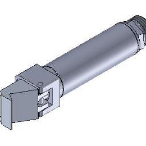 Winkelspanngreifer, Klemmgröße 14 mm, Hub 35° senkrecht, Greiffinger GRF.1435, Greiflösungen von guédon – Vakuumspezialist