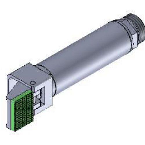 Winkelspanngreifer mit gummierter Greifbacke und Anschlag, Klemmgröße 14 mm, Hub 95°,Greiffinger GRF.1495.GW, Greiflösungen von guédon – Vakuumspezialist