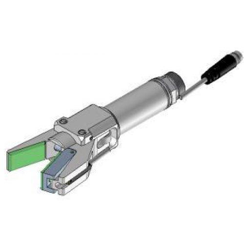 Greifzange PAC20.16SP, Klemmgroesse 20, Greiferbacken mit Gummierung, Sensorabfrage, preisgünstig und robust, Angussgreifer, EOAT