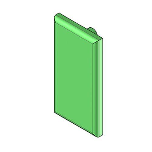 Ersatzgummi PAC.20.16P.03.V aus Viton für Greifzangen der Reihe PAC, preisgünstig und robust, Ersatzteile für Angussgreifer, EOAT