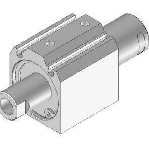 Kurzhubzylinder JDR301518, 2-fach wirkend, verdrehgesichert. Kann mit Vakuumsauger oder Druckplatte kombiniert werden. Greiferkomponenten online bestellen!