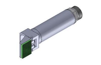 Winkelspanngreifer mit gummierter Greifbacke und Anschlag, Klemmgröße 20 mm, Hub 95°,Greiffinger GRF.2095.GW, Greiflösungen von guédon – Vakuumspezialist