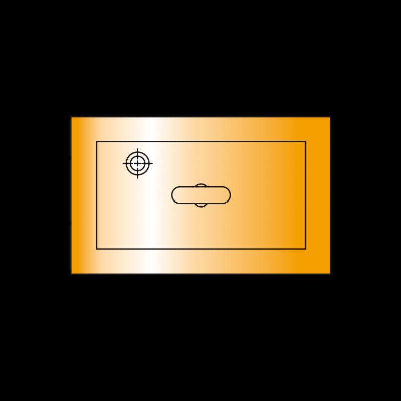 Metallsauplatten rechteckig mti Moosgummidichtung, Tragkraft 53 - 2.667 Kg