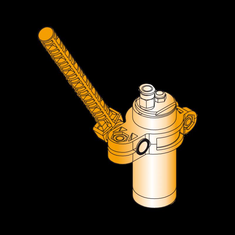 Magnetgreifer zum Handling von ferromagnetischen Werkstücken